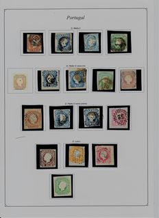Portugal 1853/1931 – Collection of stamps