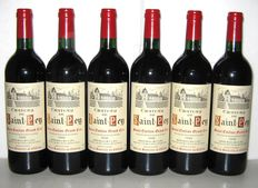 1998 Château de Saint-Pey, Grand Cru de Saint-Emilion - Lot of 6 bottles
