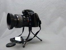 Minolta Dynax 5-XI with accessories