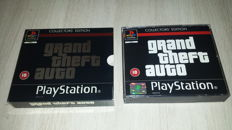 G.T.A  collectors edition  playstation 1  complete