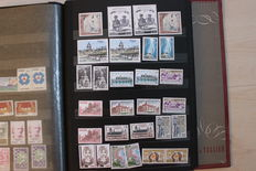 France 1960/1990 - Collection of stamps face value