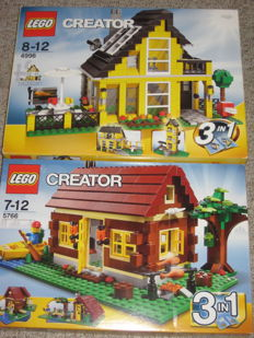 Creator - 4996 + 5766 - Beach House + Log Cabin