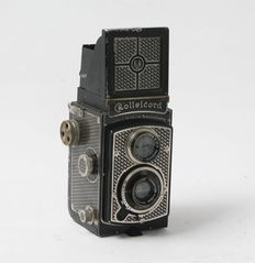 "Rollei Rolleicord I  ""Art Deco Rollei"" approx. 1933 - No. 220 = one of the first!!!"