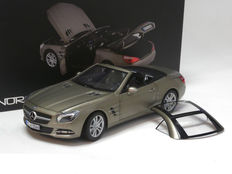 Norev HQ - Scale 1/18 - Mercedes-Benz SL-Klasse SL 500 2012 (R231) - Dark grey metallic