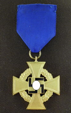 Faithful Service Honour Decoration for 40 years of service, Germany 3. Reich