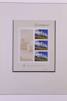 World 1978/1985 - Collection of blocks and sheetlets, mainly Europe.