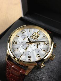 Seiko Chronograph Gold reference: SPC088P1 – men's watch