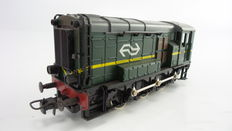 Roco H0 - 43471 - Shunting locomotive in green configuration series 500/600 of the Dutch Railways