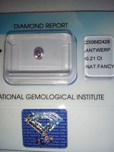 0.21ct Fancy Pink Diamond, VS Brilliancy