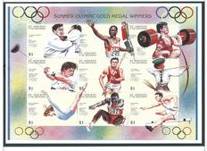 Olympic Games 1928/2000 - Theme collection in 4 albums