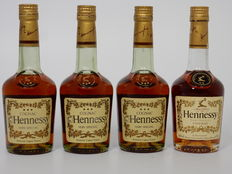 Hennessy V.S. Very Special or *** 4 half bottles 35cl