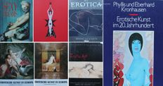 Various; Lot with 7 erotic books - 1970/1998