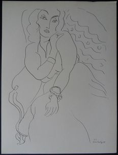 Henri Matisse (after) - La belle fiancée andalouse