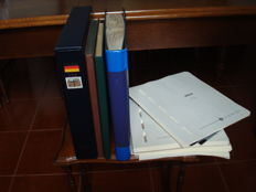 Federal Republic of Germany Berlin 1979/1988 – Consignment of 1 Davo album, 1 SAFE album, 2 stockbooks and some album pages