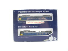 Tomix N - 92007 - 2-part Electric train set Series 193 of the JR, for track cleaning [544]