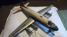 Schuco, Western Germany - L 42 cm - Battery Operated Sabena Tin Radiant-5600 Aeroplane from the Decade of 1960
