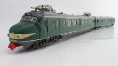 "Piko H0 - 57520 - 2-piece passenger train unit Mat'54 ""Hondekop"" with digital switchable interior lighting of the NS"