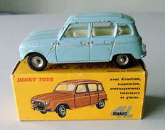 Dinky Toys-France - Scale 1/43 - Renault 4L No.518      