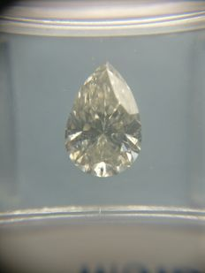 1.39 ct Pear cut diamond G SI2