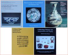 5 books/catalogues: Chinese porcelain & earthenware - Various authors - 20th century