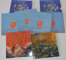 Finland – year collection 1999 up to and including 2003 (6 collections)