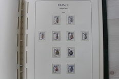 France 1976/1996 - Stamp Collection - Important face value