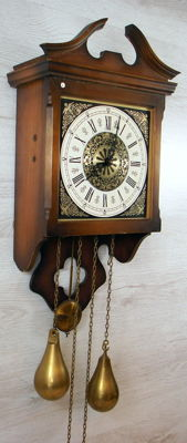 Wall clock - second half of the 20th century