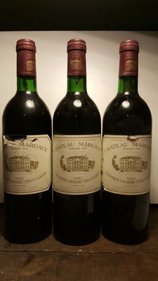 1983 Chateau Margaux - 3 bottles
