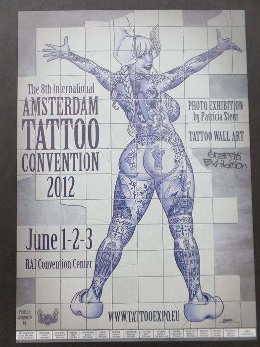 Vince Ruarus Amsterdam Tattoo Concention 2012 2013