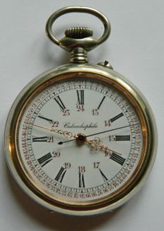 Colombophile Giant Pocket Watch