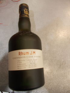 Rhum J.M 10 years old. Limited Edition. 580 bottles only. 50cl;