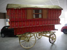 Gypsy Ledge wagon, very rare! - England - ca. 1900