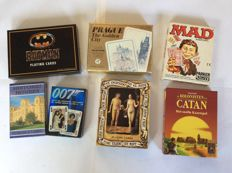 Collection of approximately 100 special card games - world.