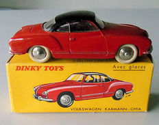 . Dinky Toys-France - Scale 1/43 - Volkswagen Karmann Ghia No.24m