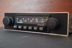 Blaupunkt Münster Arimat classic car AM-FM classic car radio - 1977