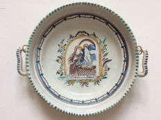 Gmunden - Faience Dish St Anthony