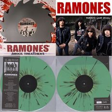 The Ramones - Three Vinyl LP's
