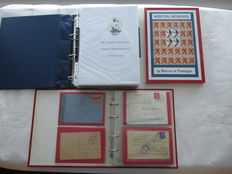 Second World War theme - Collection in albums and book/catalogue