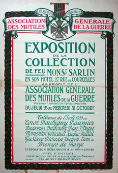 Geo Dorival - Exposition de la collection de feu monsr. Sarlin - 1915
