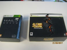 2 Special Limited editions for the X-box 360. Halo reach and Alone in the dark.