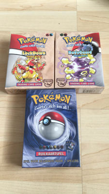 3 pokemon theme decks