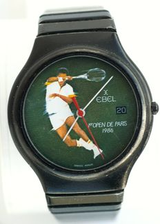"EBEL - Collector "" 1er OPEN of Tennis Paris Bercy "" - Men / Women - 1986"