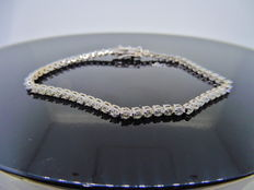 18k Gold Diamond Tennis Bracelet - 2.70ct  I, SI1