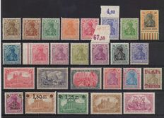 Germany –Lot from 1901 to 1940