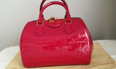"Louis Vuitton - Handbag - Patent leather Monogram, Model: ""Montana"""