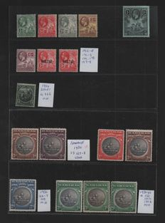 British West Indies, Queen Victoria to George VI - Collection on Stock Pages