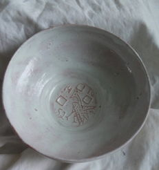 Thera Hofstede Crull - Bowl with relief decor.
