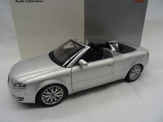 Norev - Scale 1/18 - Audi A4 Convertible 2004 - Grey