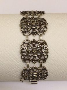 Silver bracelet - Austria - around 1920