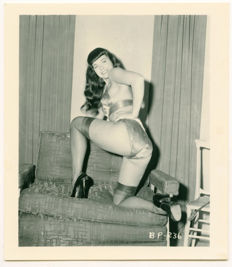 Photo; 12 Betty Page by Irving Klaw reprints - 1990s